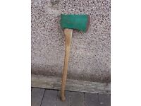 Log Splitting Wood Chopper Axe with Wooden Handle