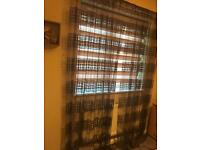 Curtain very good condition and really nice brown colour