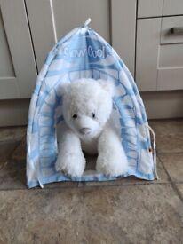 Build a Bear polar bear