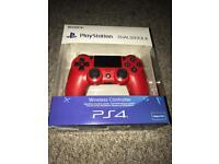PS4 Dualshock 4 V2 Magma Red