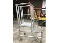 Mobile folding Podium Working Height of 1m or .65m In good working order
