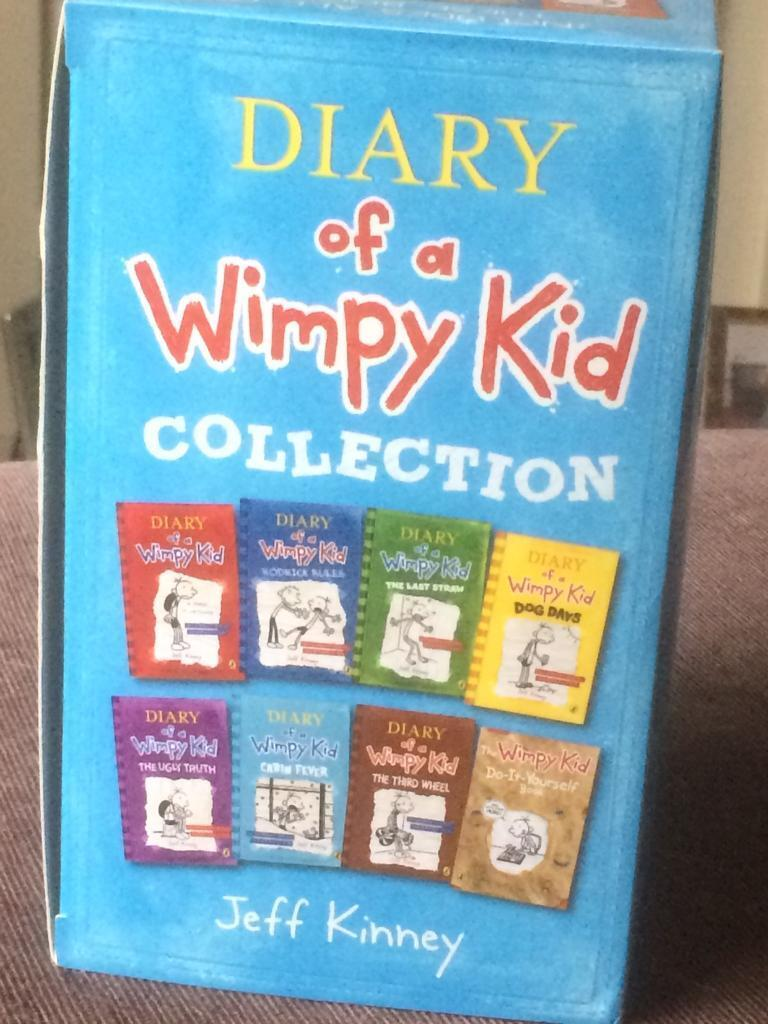 Diary of a Wimpy Kid 8 Books