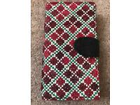 Hand made cross stitch iPhone 6 mobile case