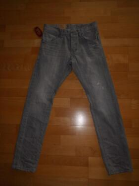 Esprit Herren Jeans W29 L32 grau Tapered Fit relaxed Fit NP60,-- in Illingen