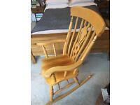 Rocking chair, excellent condition, collection from Old Trafford