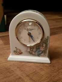 """COLLECTABLE PETER RABBIT ALARM CLOCK"" 🐰🐇🐰🐇"