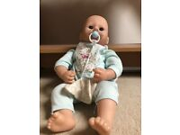 Baby Annabell Prince George brother doll