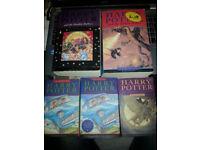 5 X Harry Potter Books