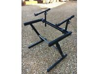 Quick Lok Z-726 Double Tier Keyboard Stand