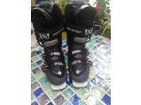 Ski salmon boots size 27