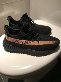 Yeezy V2 black/copper Size 8 NEED GONE TODAY HENCE PRICE