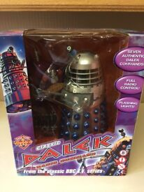 "Doctor Who Genesis Of The Daleks 1963 12"" blue/silver"