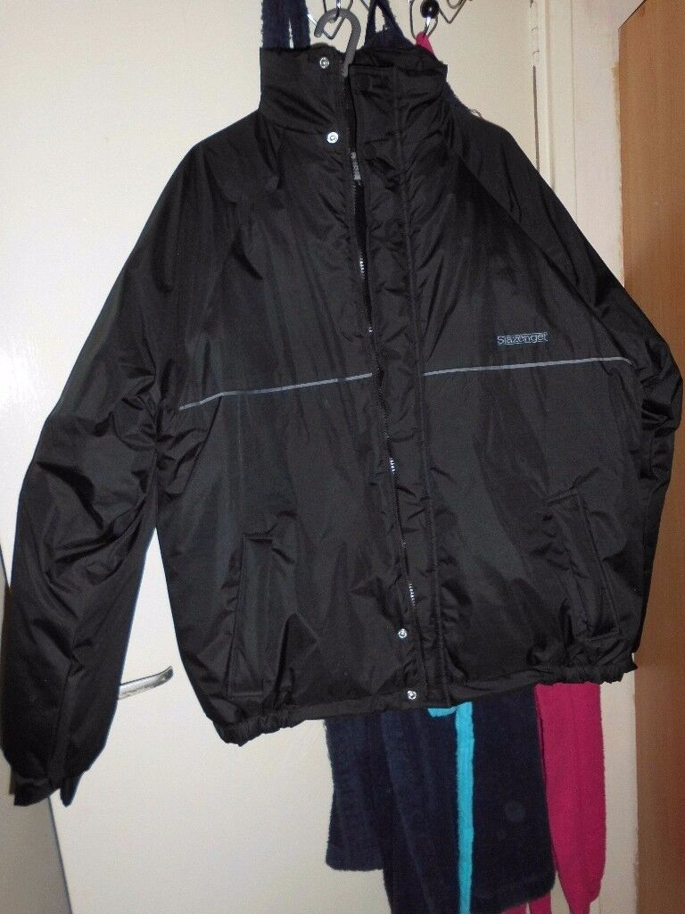 MENS SLAZENGER BLACK JACKET
