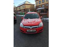 2008 57plate Vauxhall Astra 1.6 active