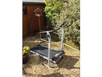 Manual treadmill (no motor)