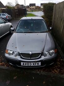 Need Gone ASAP MG ZS 2003 For Repars or Spare