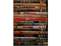 Bundle of 112 DVDs