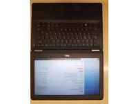 Fast slim Laptop Dell GC no WEBCAM, i5 6th.gen, 8GB RAM, M.2 SSD 128GB,5 hours battery