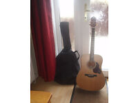 Grafter Acoustic Guitar Model D7 New (Not used) with Gig Bag