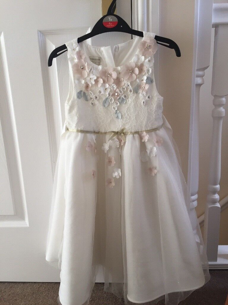 Monsoon Age 7 Bridesmaids Dress