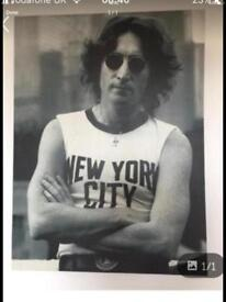 LARGE JOHN LENON NEW YORK CANVAS