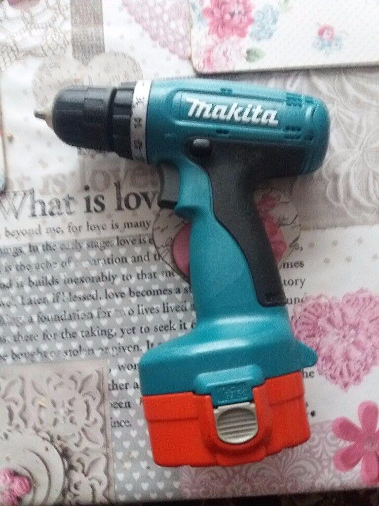 Makita 6280D 14 4 Cordless Drill 2speed 16 settings Nice tidy condition |  in Bilsthorpe, Nottinghamshire | Gumtree
