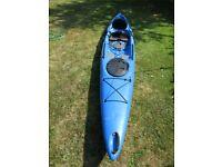 Wilderness Systems Tarpon 160 sit on top sea kayak (fishing/distance)