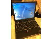 IBM Thinkpad X31 Windows XP pro Intel pentium 768MB RAM processor 1600MHz