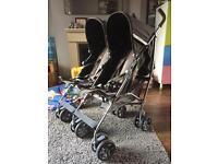 Mamas & Papas Kato 2 twin double buggy