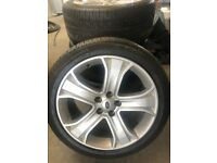 "Set of 4 Pirelli Scorpion 20""Land Rover Range Rover Alloy Wheels Tyres 275/40ZR 20 106Y"