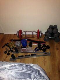 Fitness equipment & weights