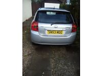 Toyota corolla 5d for sale