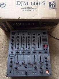 Pioneer DJM 600 Mixer - MINT condition!