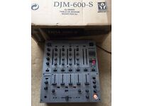 Pioneer DJM 600 Mixer - MINT condition!