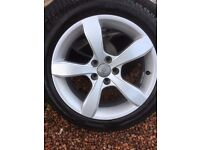 """Winter 16"""" wheels/ dunlop tyres for Audi A1"""