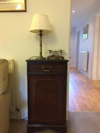 Matching bureau, chest, display cabinets, bookshelves from house clearance in Crystal Palace