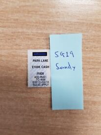 Looking for: Mayfair M921 - 50/50 - McDonalds Monopoly