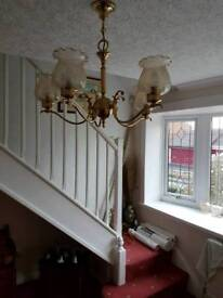 Pair quality light fittings.
