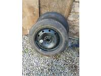 wheels and tires for sale. one off rover 75. 1 off renault