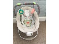 Comfort & Harmony Cradling Bouncer in Cozy Kingdom Used