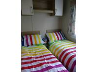 3 BEDROOMS,2 TOILETS static caravan on SETON SANDS HOLIDAY PARK