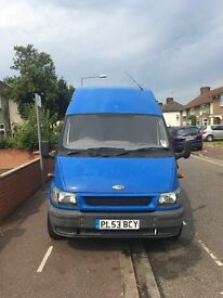Hi. I'm seling my lovely ford transit..jumbo, driving perfectly