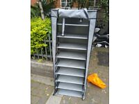 Shelving unit with cover central Londo n bargain