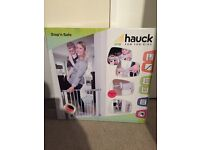 Stop 'n safe Hauck baby safety/stair gate (x2)