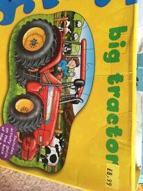 Tractor jigsaw