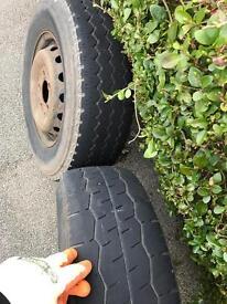 Vw merc van wheels
