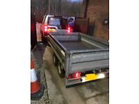 Indespension ifor Williams trailer twin axel 8x5 dropside
