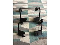 Mountain Buggy Clip 31 Double Adapter Clips for Carrier Car Seats