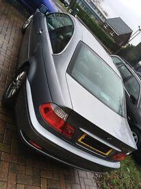 bmw 320ci silver/grey LOW MILAGE £2150 ONO