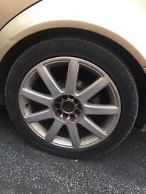 "17"" s3 alloy wheels"